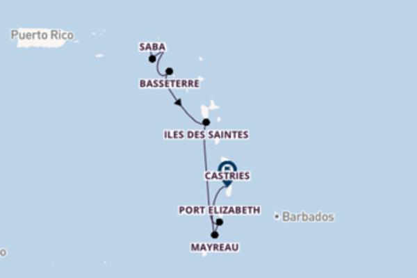 Ga mee op de SeaDream I naar Castries
