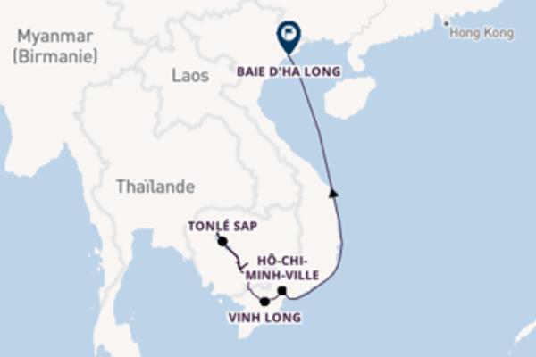 Croisière sur le Mékong, Hanoi et Baie d'Halong
