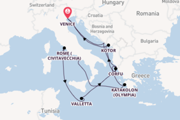 Trip from Venice with the Volendam