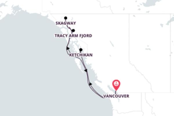 Espetacular viagem de 8 dias até Vancouver