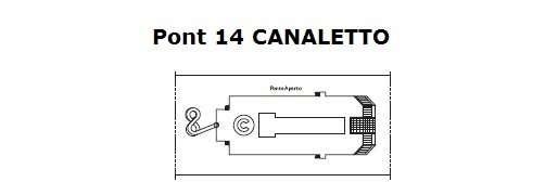 Costa Magica Pont 14 Canaletto