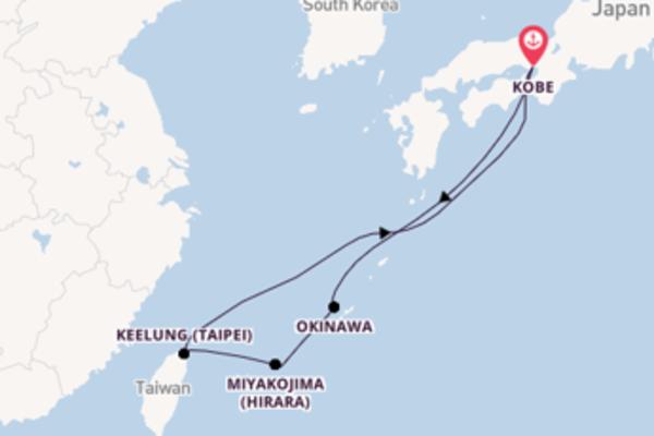 Cruise met Princess Cruises naar Miyakojima