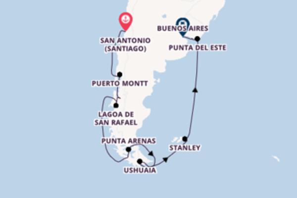 Agradável cruzeiro de 18 dias com a Oceania Cruises