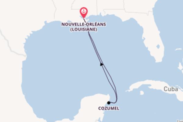Découvrez avec Disney Cruise Line, la destination: Cozumel