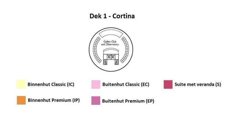 Costa neoClassica Dek 14 Cortina