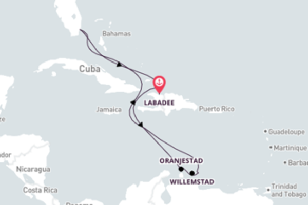 Magnificent Oranjestad from Miami 10-Day Expedition