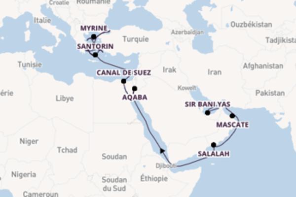 Magnifique balade de 31 jours à bord du bateau Seabourn Ovation
