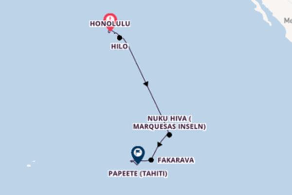 16 Tage unterwegs mit der Seven Seas Navigator