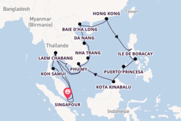 Étonnante croisière de 29 jours avec Holland America Line