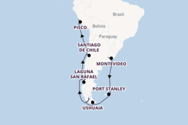 Sailing with Oceania Cruises from Buenos Aires to Callao (Lima)