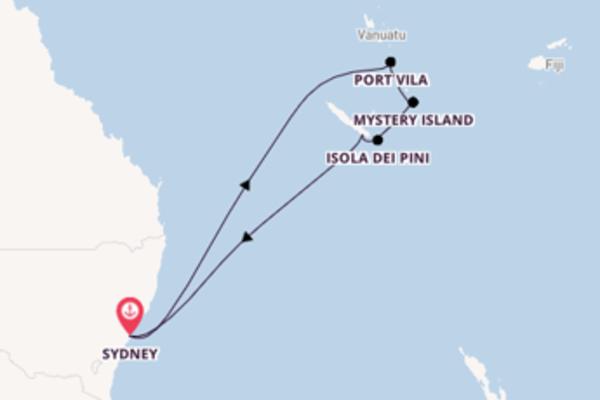 Bellissimo viaggio di 11 giorni verso Port Vila a bordo di Carnival Splendor