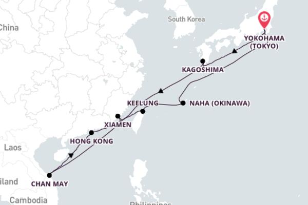 Spectacular Naha Getaway with Princess Cruises