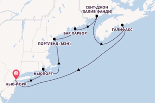 Сказочное путешествие с Norwegian Cruise Line