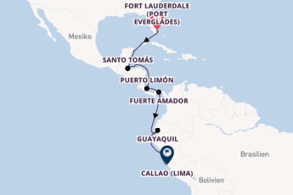 In 17 Tagen nach Callao (Lima) über Fuerte Amador