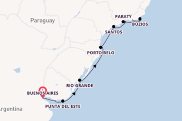 Voyage with Oceania Cruises from Buenos Aires