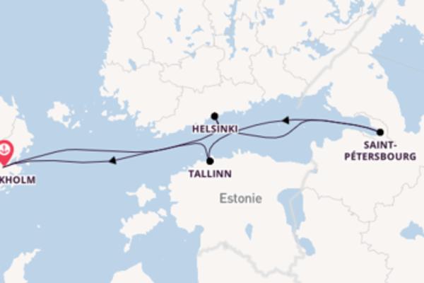 Explorez avec Costa Croisières , la destination: Stockholm