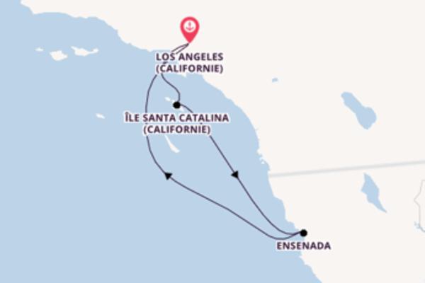 5 jours de navigation à bord du bateau Navigator of the Seas  vers Los Angeles (Californie)