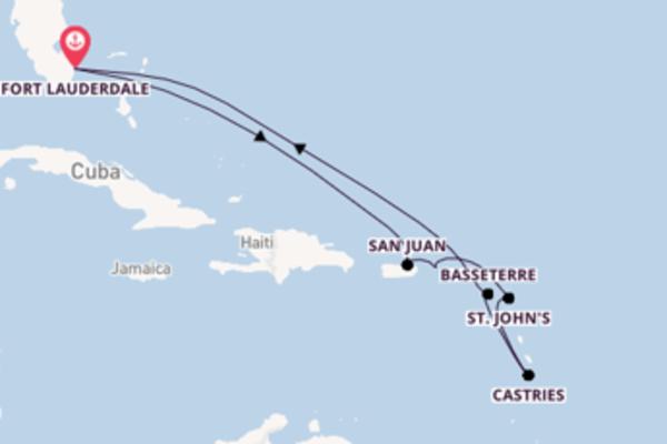 Imperdível viagem de 10 dias com a Celebrity Cruises