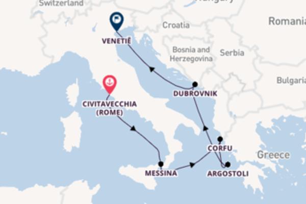 Geniet van het romantische Corfu met Celebrity Cruises