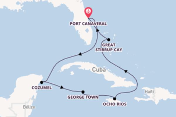 Belle croisière vers Port Canaveral via Ocho Rios