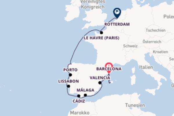Kreuzfahrt mit der AIDAprima nach Rotterdam