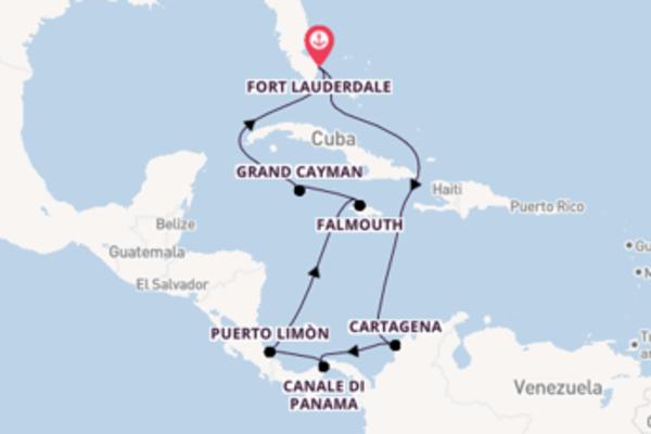Lasciati incantare da Cristóbal arrivando a Fort Lauderdale