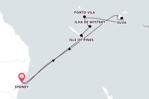 Fantástico cruzeiro de 13 dias com a Royal Caribbean