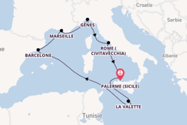 Sublime croisière avec MSC Croisières pendant 8 jours