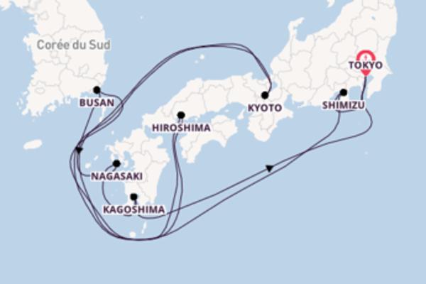 Croisière de 11 jours vers Tokyo avec Oceania Cruises