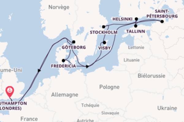 Charmante croisière de 17 jours avec P&O Cruises