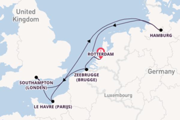 In 8 dagen naar Rotterdam