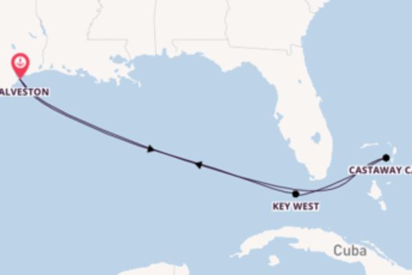 7-daagse cruise met de Disney Wonder vanuit Galveston