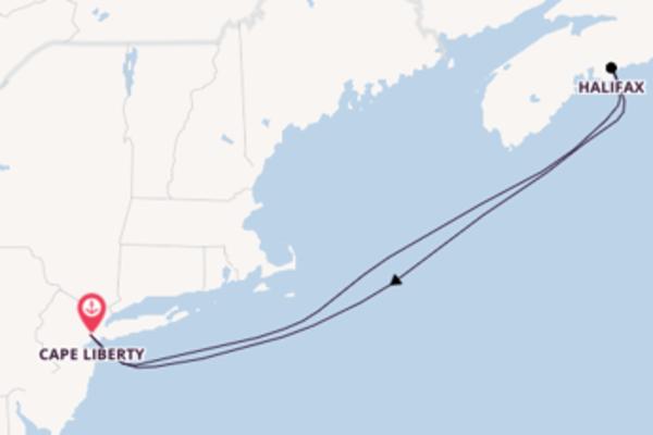 Kreuzfahrt mit der Freedom of the Seas nach Cape Liberty