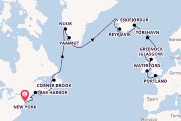 Bezoek Reykjavik met Regent Seven Seas Cruises