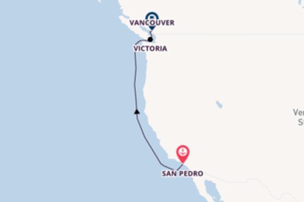 Aufregende Kreuzfahrt über Victoria ab Los Angeles