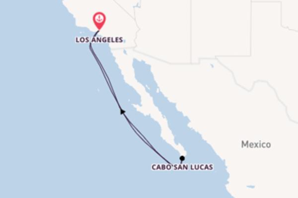 Cruise met Carnival Cruise Line naar Cabo San Lucas
