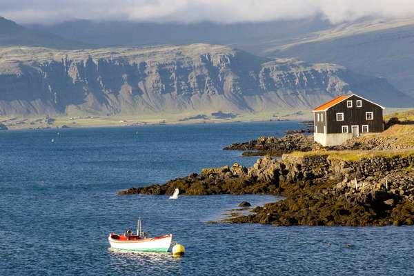 о. Дьюпивогур, Исландия