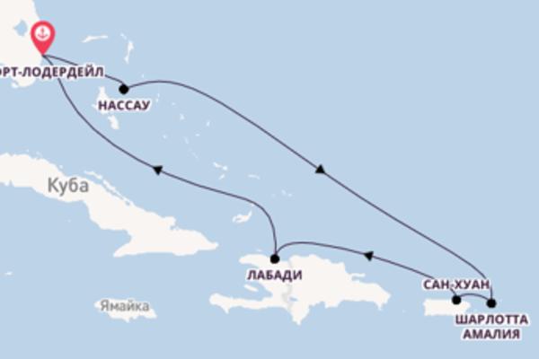 Чарующее путешествие с Royal Caribbean