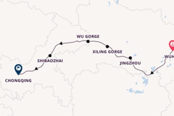 Cruising from Shanghai to Xingang (Beijing)