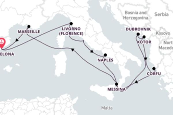 Stunning Dubrovnik Excursion with Carnival Legend