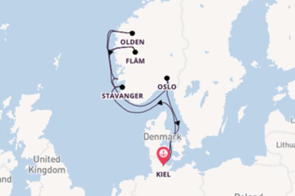 Stavanger ervaren met de AIDAluna