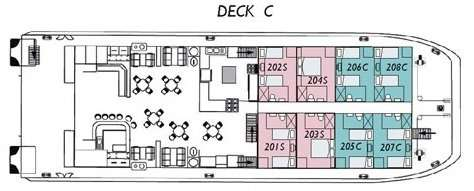 Coral Expeditions II Deck C