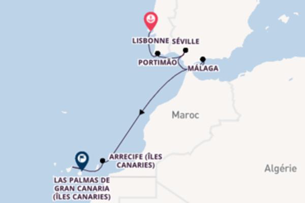 Douce balade de 12 jours à bord du bateau Azamara Journey