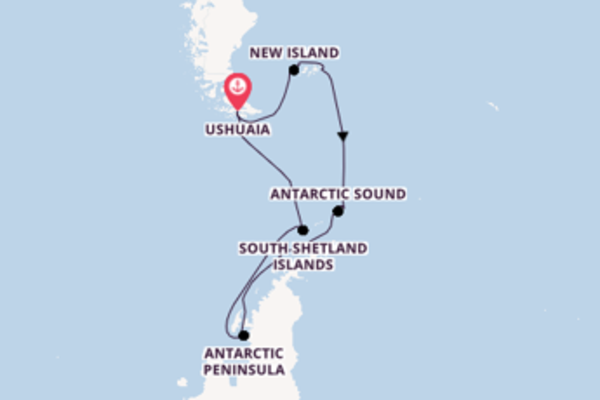 15 day cruise with the Silver Wind to Ushuaia