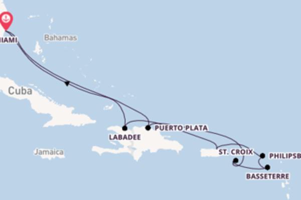 San Juan verkennen met de Radiance of the Seas
