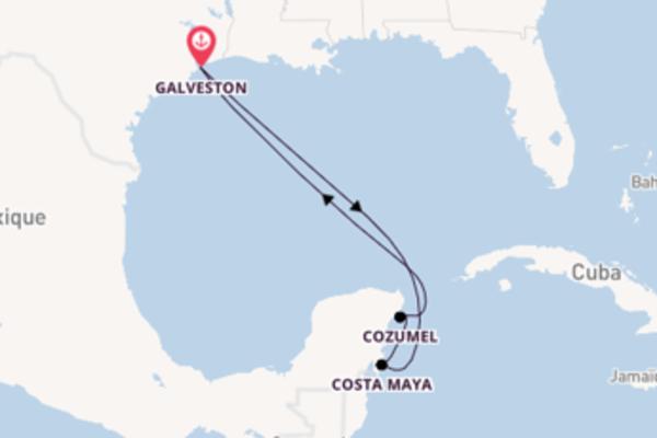 Costa Maya depuis Galveston pour une croisière de 6 jours
