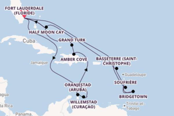 Magnifique balade de 22 jours au départ de Fort Lauderdale
