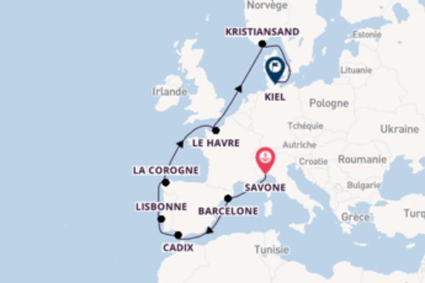 Croisière de 13 jours depuis Savone avec Costa Croisières