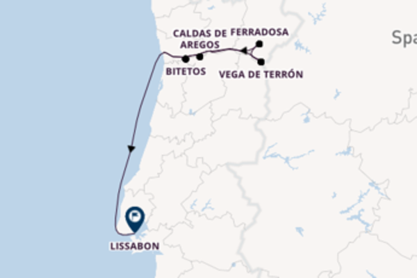 Erleben Sie Vega de Terrón ab Porto