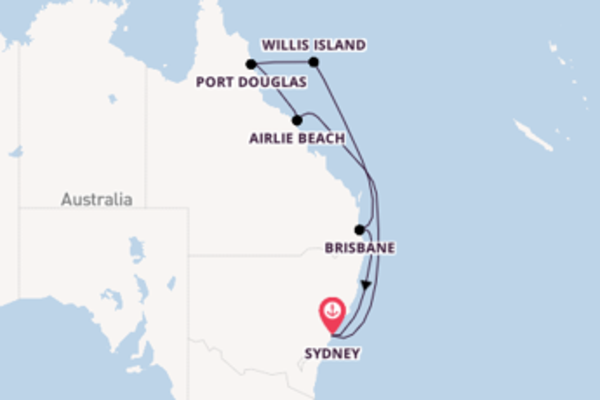 Trip with Princess Cruises from Sydney